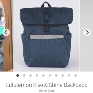 Lululemon Rise and Shine Backpack